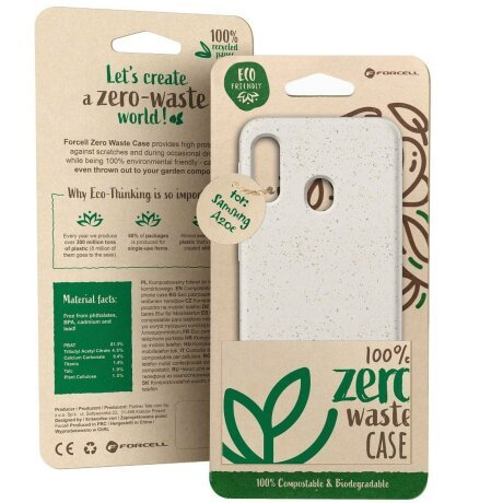 Husa Forcell BIO - Zero Waste Case for SAMSUNG A51 nature