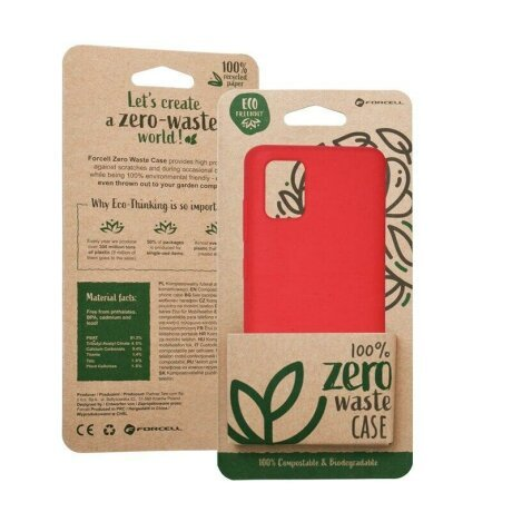 Husa Forcell BIO - Zero Waste Case for SAMSUNG A70 red