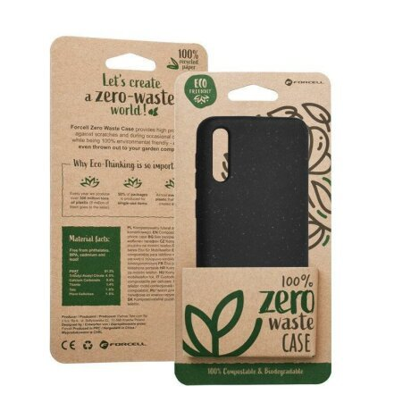 Husa Forcell BIO - Zero Waste Case for SAMSUNG Note 10 Plus black