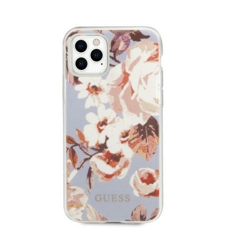 Husa Guess iPhone 11 Pro lilac N°2 Flower Collection