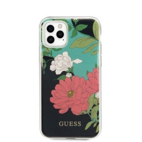 Husa Guess iPhone 11 Pro Max black N°1 Flower Collection