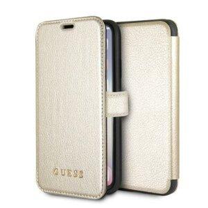Husa Guess iPhone X/Xs alb book Iridescent