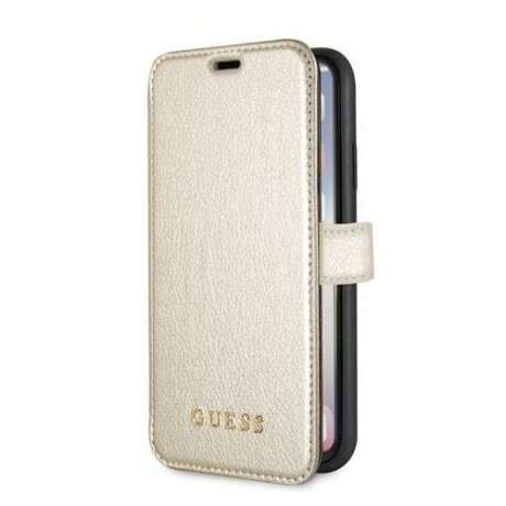 Husa Guess iPhone X/Xs alb book Iridescent