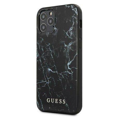 Husa GUESS MARBLE IPHONE 12 Mini BLACK