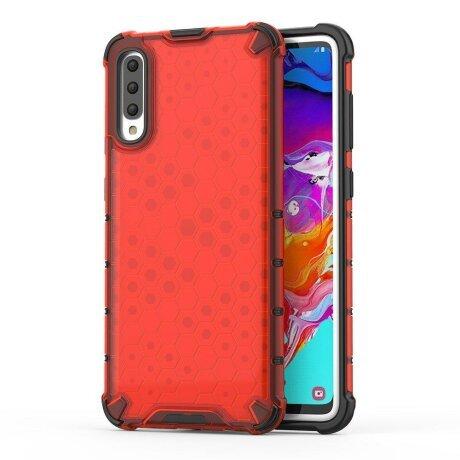 Husa Honeycomb Samsung Galaxy A70 Red