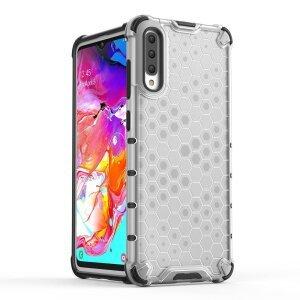 Husa Honeycomb Samsung Galaxy A70 Transparent