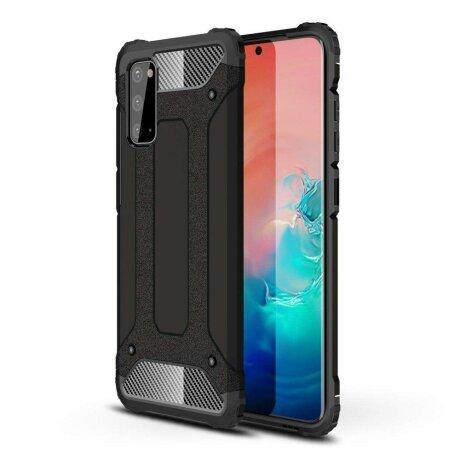 Husa Hybrid Armor Case  Samsung Galaxy S20 black