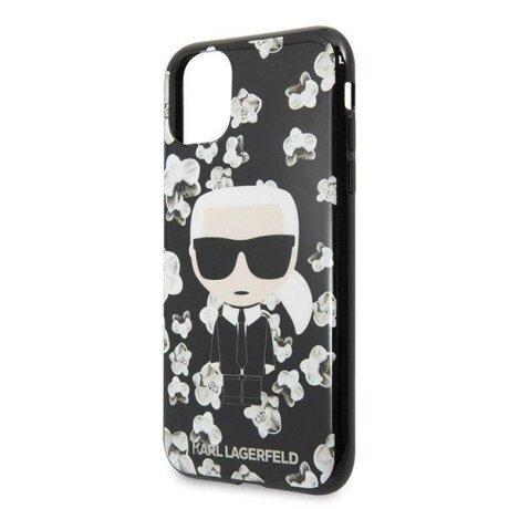 Husa Karl Lagerfeld iPhone 11 Pro czarny/black Flower