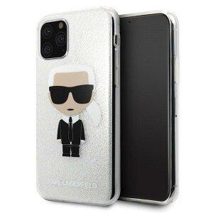 Husa Karl Lagerfeld iPhone 11 Pro Max Glitter Iconic