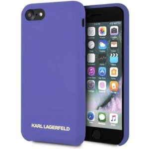 Husa KARL LAGERFELD SILICONE CASE ICONIC IPHONE 7 / 8 / SE 2020 MOV
