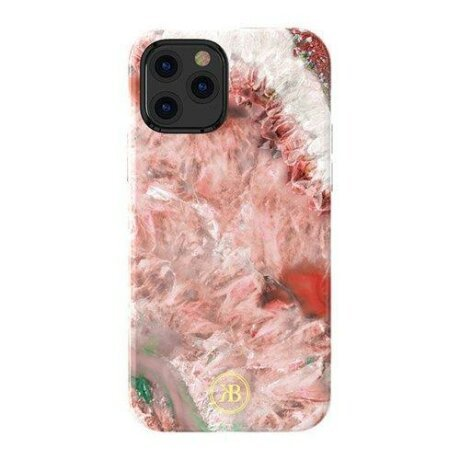 Husa Kingxbar Agate Series  iPhone 12 Pro / iPhone 12 red