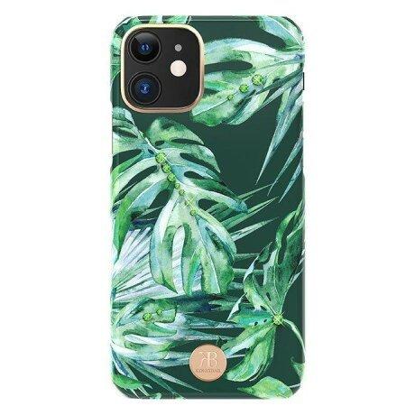 Husa Kingxbar Blossom cu cristale Swarovski pentru  iPhone 11