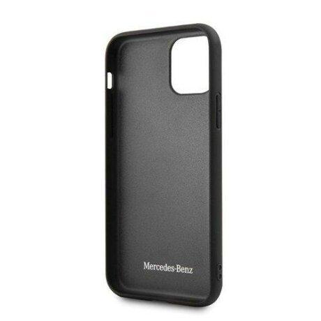 "Husa Mercedes iPhone 12 mini 5,4"" black hardcase Bow Line"
