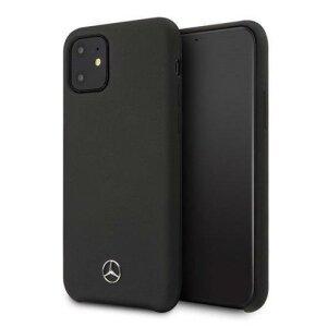 "Husa Mercedes  iPhone 12 mini 5,4"" black hardcase Silicone Line"