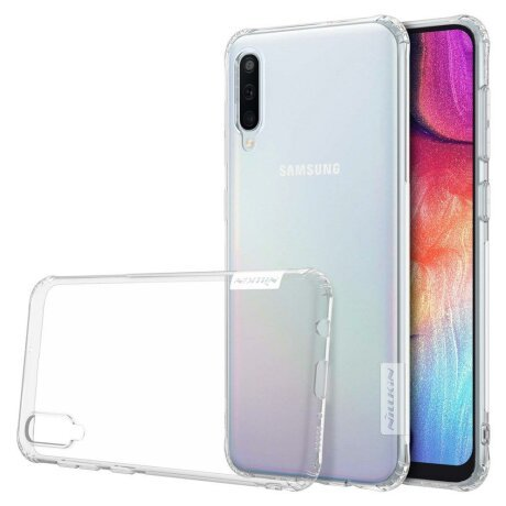 Husa Nillkin Nature TPU Case Gel Ultra Slim Cover for Samsung Galaxy A50 transparent