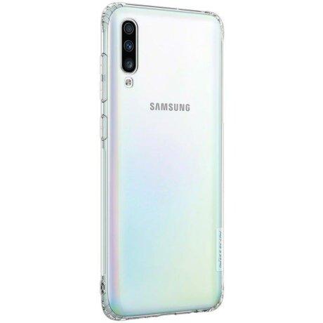 Husa Nillkin Nature TPU Case Gel Ultra Slim Cover for Samsung Galaxy A70 transparent