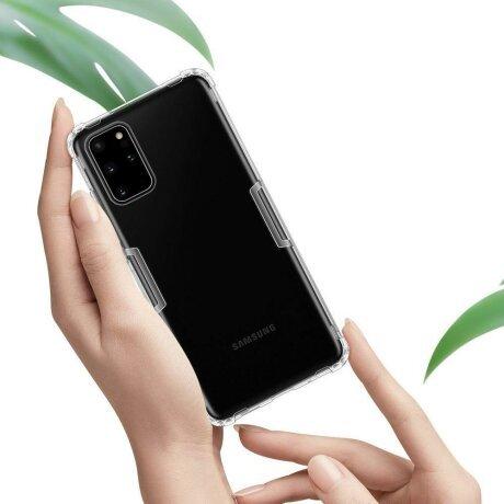 Husa Nillkin Nature TPU Case Gel Ultra Slim Cover for Samsung Galaxy S20 Plus Transparent