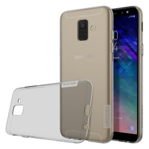 Husa Nillkin Nature TPU Samsung Galaxy A6  2018 Grey
