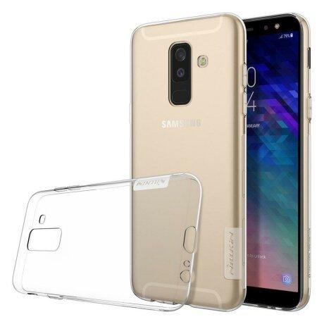 Husa Nillkin Nature TPU Samsung Galaxy A6 Plus 2018 Transparent