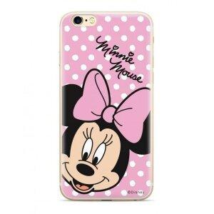Husa Original Disney Minnie 008 pentru Samsung Galaxy A70 Pink