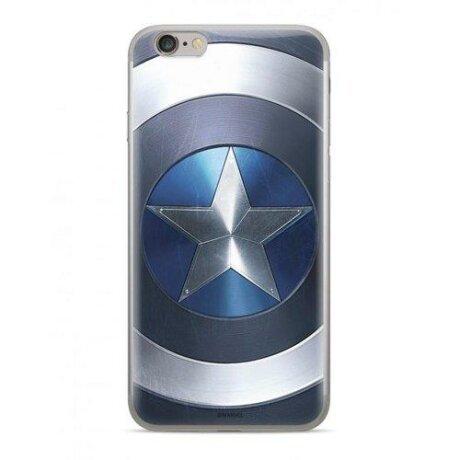 Husa Originala Marvel Captain America pentru iPhone 11 Pro albastru
