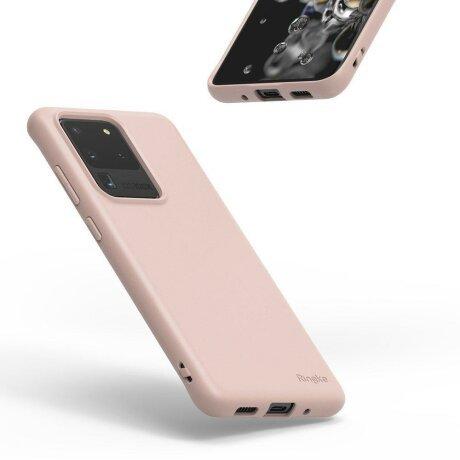 Husa Ringke Air S Ultra-Thin Cover Gel TPU Case for Samsung Galaxy S20 Plus purple