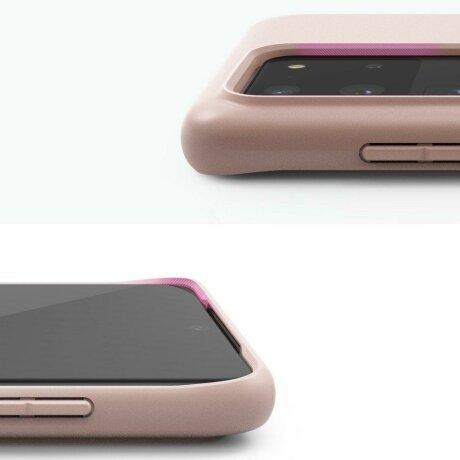 Husa  Ringke Air S Ultra-Thin Cover Gel TPU Case for Samsung Galaxy S20 Ultra purple