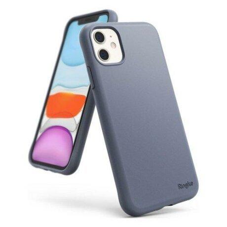 Husa Ringke Air S Ultra-Thin Cover Gel TPU Case pentru iPhone 11 Lavender Grey
