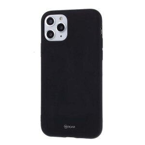 Husa Roar Colorful Jelly Case - for Iphone 11 Pro black
