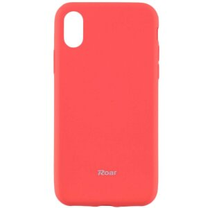 Husa Roar Colorful Jelly Case - for Iphone 11 Pro peach pink