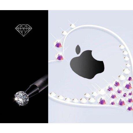Husa Samsung Galaxy Note 10 Kingxbar Wish Series Swarovski Crystals Silver