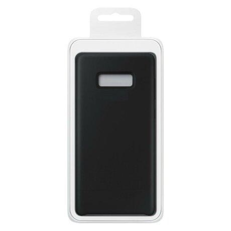 Husa Silicone Case Soft Flexible Rubber Cover pentru Samsung Galaxy S10 black