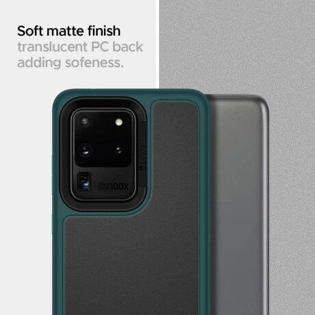 Husa Spigen Ciel Color Brick Galaxy S20 Ultra Forest Green