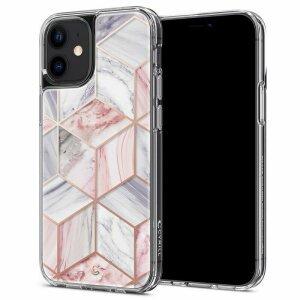 Husa Spigen Cyrill Cecile Iphone 12 Mini Pink Marble