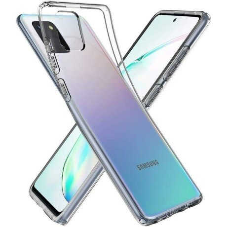 Husa Spigen Liquid Crystal Galaxy Note 10 Lite Crystal Clear