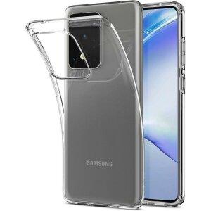 Husa Spigen Liquid Crystal Galaxy S20 Ultra Crystal Clear