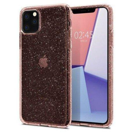 Husa Spigen Liquid Crystal Iphone 11 Pro Max Glitter Rose