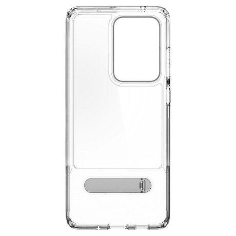 Husa Spigen Slim Armor Essential S Galaxy S20 Ultra Crystal Clear