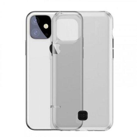 Husa TPU Baseus Ultra-Thin Pentru Apple IPhone 11 Pro Max, Cu Suport Pentru Snur, Fumurie