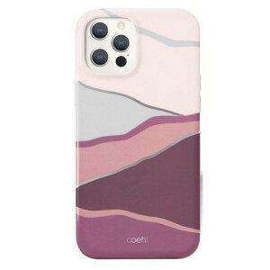 Husa UNIQ Coehl Ciel protective case pentru Phone 12 Pro / iPhone 12 pink / roz