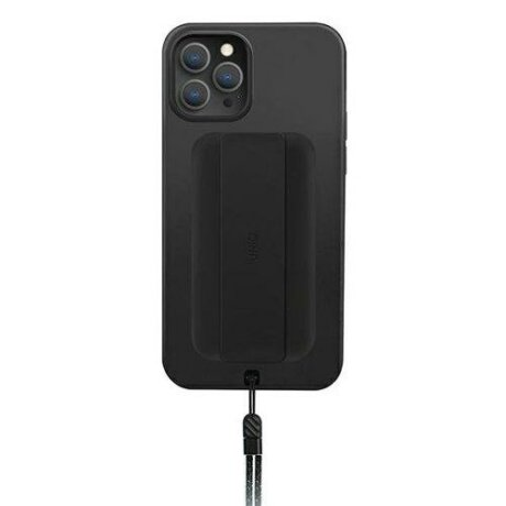 Husa UNIQ Heldro protective case for iPhone 12 Pro / iPhone 12 black (Antimicrobial)