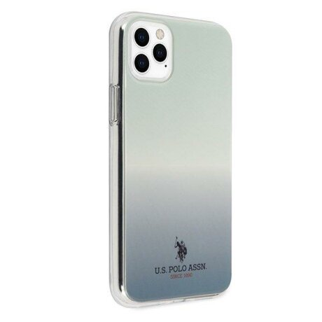 Husa US Polo iPhone 11 Pro blue Gradient Pattern