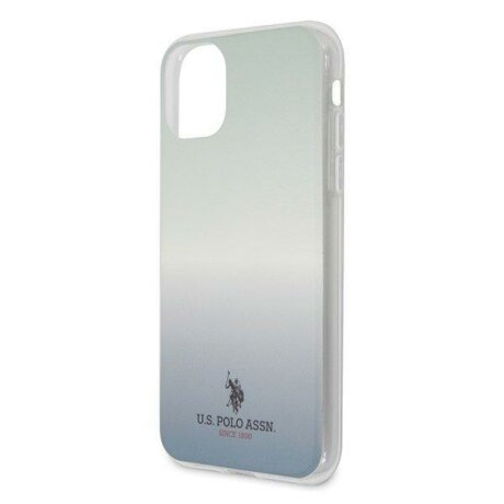 Husa US Polo iPhone 11 Pro Max blue Gradient Pattern