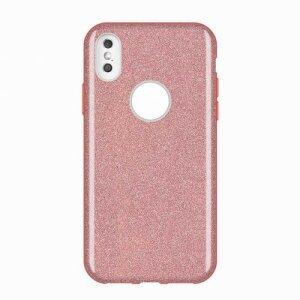 Husa Wozinsky Glitter Case Shining Cover for iPhone XS Max roz light