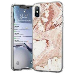 Husa Wozinsky Marble TPU pentru iPhone 11 Pro pink