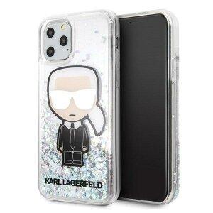 Karl Lagerfeld iPhone 11 Pro Max hardcase Liquid Glitter Iridescent Iconic