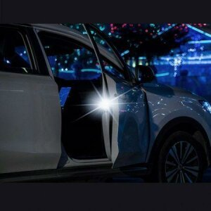 Lumina de siguranta Baseus, Car Door Open, Negru
