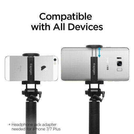Selfie Stick Spigen S530 Black
